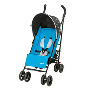 BUGGY Slim Comfort Set - Blau/Schwarz, KONVENTIONELL, Textil/Metall (47/84/105cm) - Safety 1st