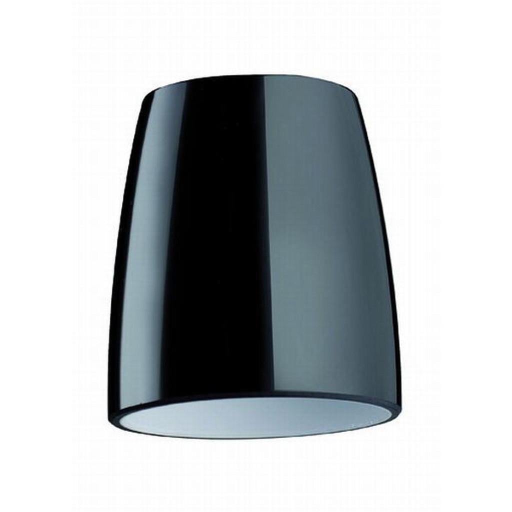 XXXL LEUCHTENGLAS Schwarz Glas