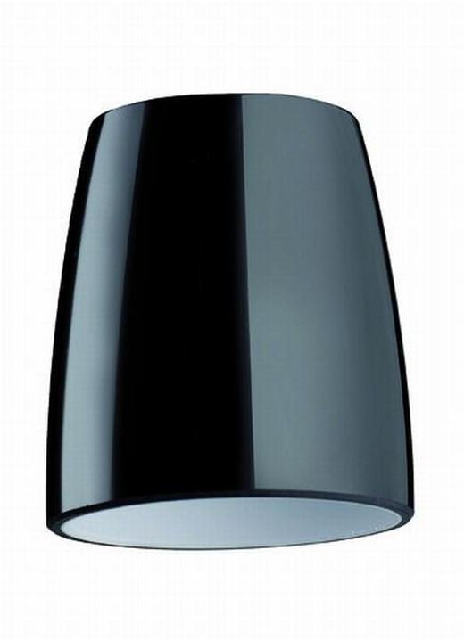 LEUCHTENGLAS  Schwarz  Glas - Schwarz, LIFESTYLE, Glas (6,5/7,2cm)