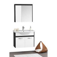 KOPALNICA  antracit, bela  - bela/antracit, Design (80/63/51cm) - Xora