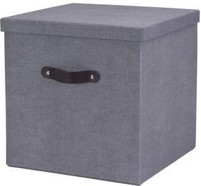 DEKORATIONSLÅDA - grå, Basics, kartong (31,5/31,5/31,5cm)