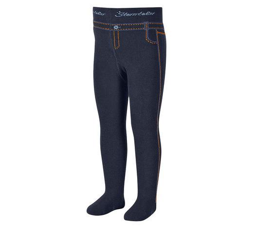 STRUMPFHOSE - Blau, Basics, Textil (74null) - Sterntaler
