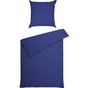 BETTWÄSCHE Seersucker Blau 135/200 cm  - Blau, Basics, Textil (135/200cm) - Janine