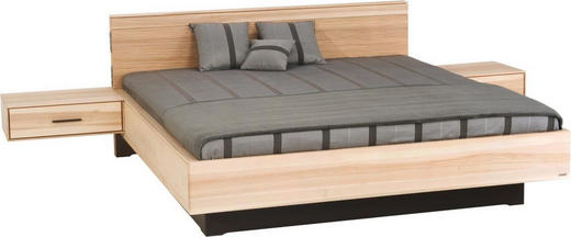 BETT Kernesche massiv 180/200 cm - Eschefarben, Design, Holz (180/200cm) - VALDERA