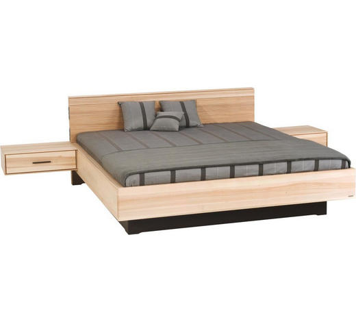 BETT 180/200 cm  in Eschefarben  - Eschefarben, Design, Holz (180/200cm) - Valdera