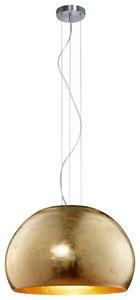 HÄNGELEUCHTE - Goldfarben, LIFESTYLE, Metall (51/155cm)