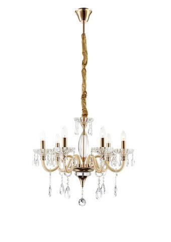 LESTENEC - zlata, Trendi, kovina/steklo (56,5/115cm)