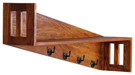 WANDGARDEROBE - Sheeshamfarben, Design, Holz (87/40/20cm) - Carryhome