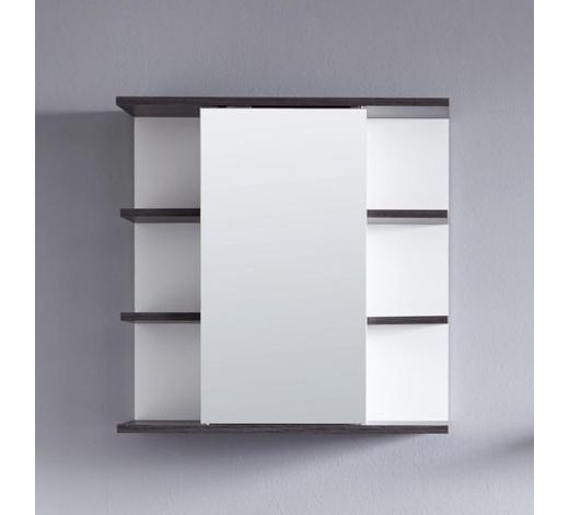 SPIEGELSCHRANK 60/60/20 cm - Weiß/Grau, Design, Glas/Holzwerkstoff (60/60/20cm) - Xora