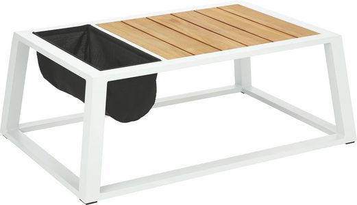 STO ZA SEDENJE NAPOLJU - Crna/Prirodna boja, Dizajnerski, Tekstil/Drvo (110/41/75cm) - Ambia Garden