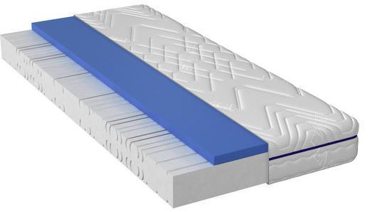 Kernmix Gel- und Kaltschaumschicht Matratze 90/200 cm - Weiß, Basics, Textil (90/200cm) - Dieter Knoll