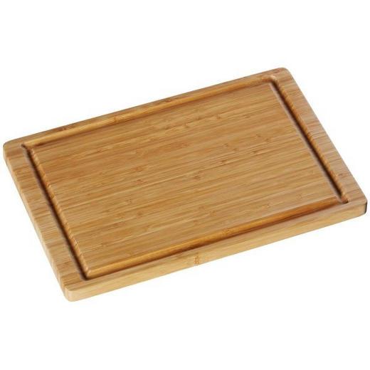SCHNEIDEBRETT Holz Bambus - Naturfarben, Basics, Holz (38/25cm) - WMF