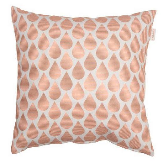 KISSENHÜLLE Beige, Orange 38/38 cm - Beige/Orange, Textil (38/38cm) - Esprit