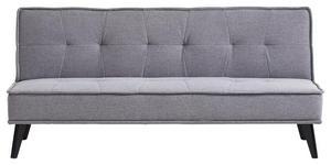 SCHLAFSOFA in Holz, Textil Grau, Schwarz  - Schwarz/Grau, Design, Holz/Textil (181/91/82cm) - Carryhome
