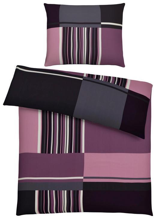 BETTWÄSCHE 140/220 cm - Beere, Design, Textil (140/220cm) - NOVEL