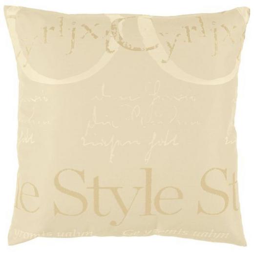 KISSENHÜLLE Beige - Beige, Basics, Textil (49/49cm)