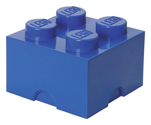 AUFBEWAHRUNGSBOX 25/25/18 cm - Blau, Trend, Kunststoff (25/25/18cm) - Lego