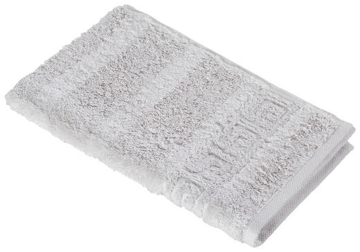 GÄSTETUCH 30/50 cm - Silberfarben, Basics, Textil (30/50cm) - Cawoe