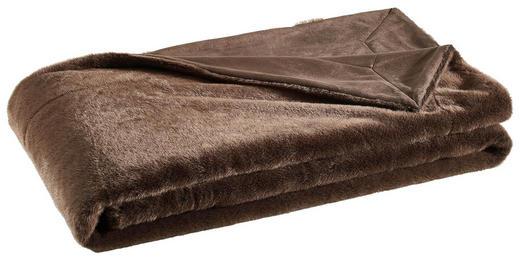 FELLDECKE 150/200 cm Braun - Braun, Design, Textil (150/200cm) - Novel