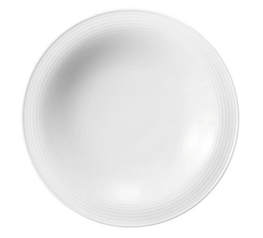 SUPPENTELLER - Weiß, Basics, Keramik (22,5/4,1cm) - Seltmann Weiden