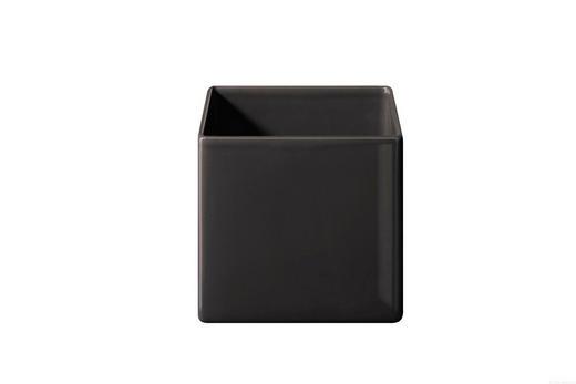 ÜBERTOPF Keramik - Anthrazit, Keramik (18/18/18cm) - ASA