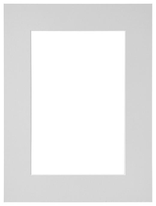 PASSEPARTOUT  Grau - Grau, Papier (30/40cm)