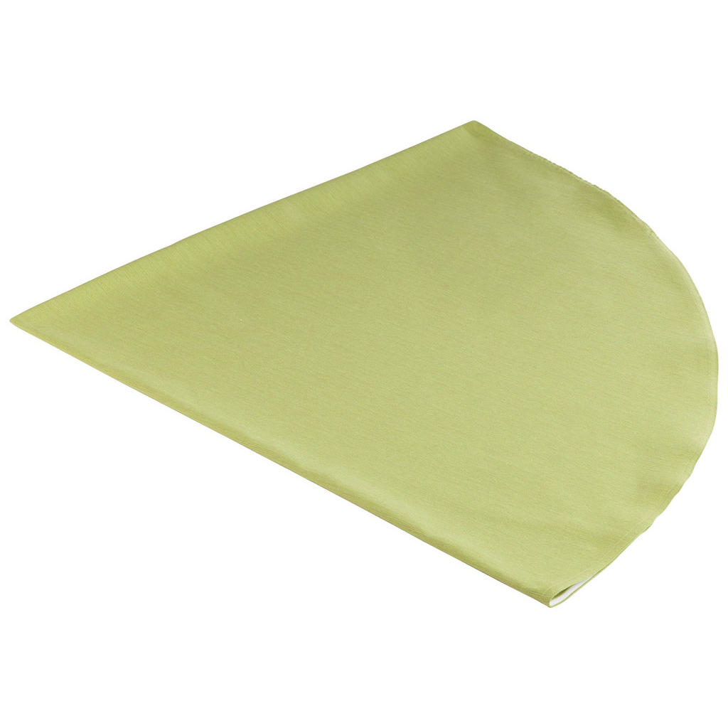 Tischwäsche in Grün für runde Tische