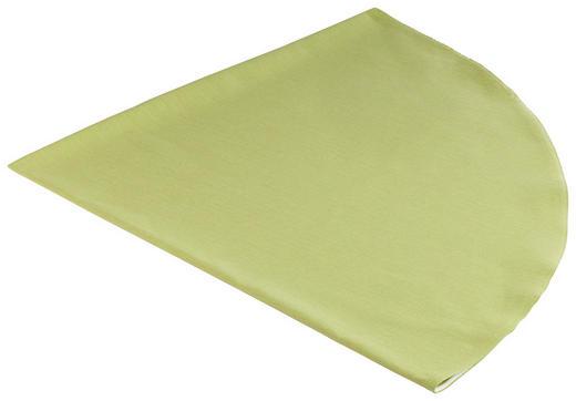 TISCHDECKE Textil Leinwand, Struktur Grün 160 cm - Grün, Basics, Textil (160cm) - Novel