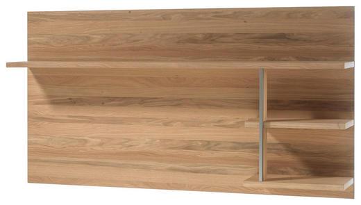 WANDPANEEL Eiche furniert geölt Eichefarben - Eichefarben, KONVENTIONELL, Holz/Metall (184/96/29cm) - Cantus