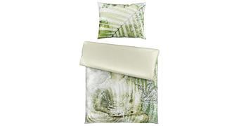 POSTELJNINA BUDDHA - zelena, Design, tekstil (140/200cm) - Novel