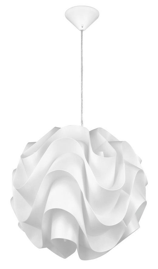 HÄNGELEUCHTE - Weiß, LIFESTYLE, Kunststoff/Metall (45/146cm) - Boxxx