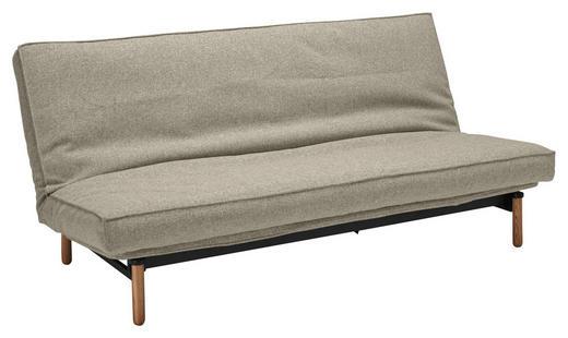 SCHLAFSOFA Webstoff Sandfarben - Sandfarben/Ulmefarben, Design, Textil (200/140/93cm) - Innovation