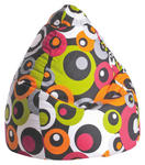 SITZSACK 120 L  - Pink/Braun, Design, Textil (90/70cm) - Carryhome