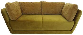 SCHLAFSOFA in Textil Goldfarben  - Goldfarben, MODERN, Kunststoff/Textil (212-250/83/98cm) - Venda