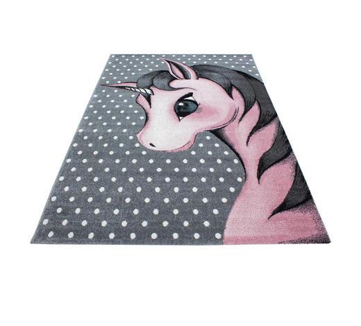 KINDERTEPPICH 80/150 cm - Pink/Weiß, Trend, Textil (80/150cm) - Ben'n'jen