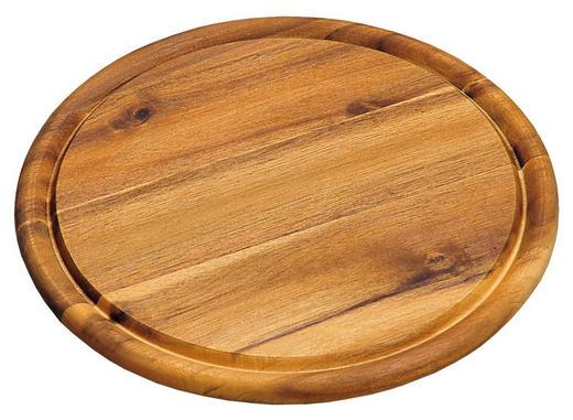 SCHNEIDEBRETT Holz Akazie - Akaziefarben, Basics, Holz (25/25/1,5cm) - Homeware