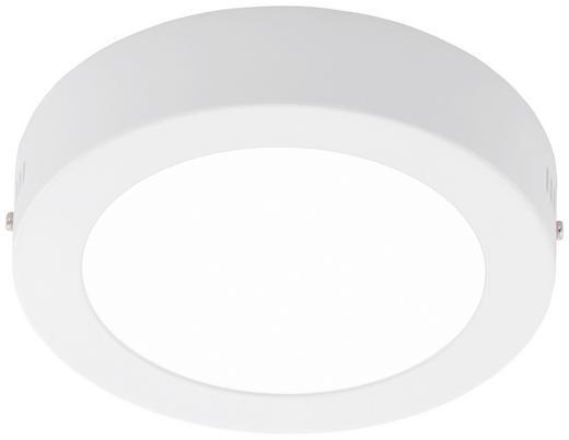 LED-DECKENLEUCHTE - Weiß, Design, Metall (17/3,5cm)