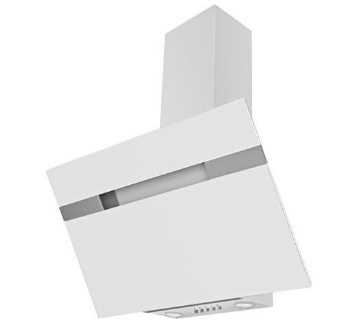 Dunstabzugshaube 60231 - Weiß, Basics, Glas (90/94,5-113,5/37,5cm) - Mican