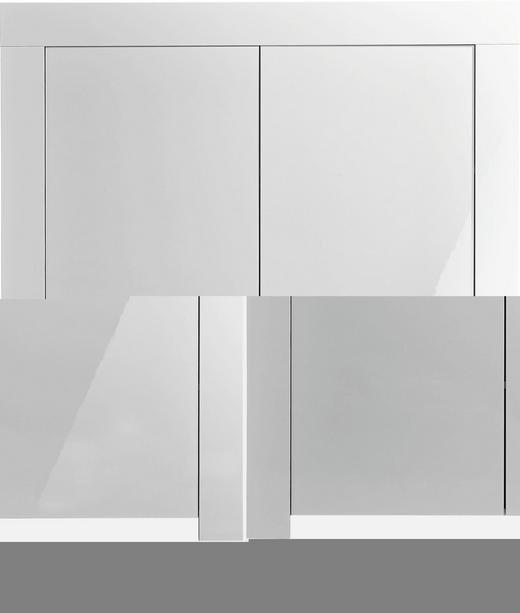 KOMMODE Weiß - Weiß, Design, Holzwerkstoff (120/140/50cm) - Carryhome
