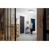 LED-DECKENLEUCHTE HUE CHER - Schwarz, Design, Kunststoff (47,5/9,5/47,5cm) - Philips