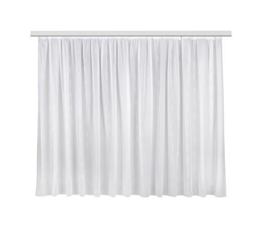 FERTIGVORHANG  halbtransparent  450/170 cm - Weiß, Basics, Textil (450/170cm) - Ambiente