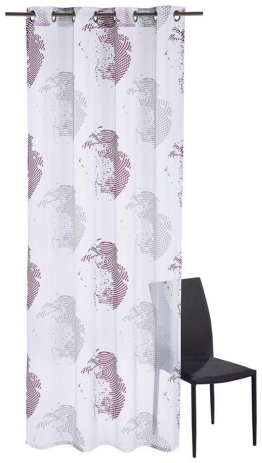 ÖSENSCHAL  halbtransparent  135/245 cm - Beere, Design, Textil (135/245cm) - Esposa