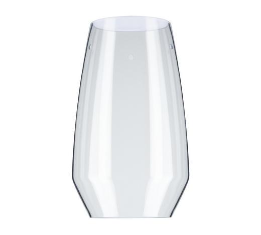 SCHIENENSYSTEM-LEUCHTENSCHIRM   - Klar, Design, Glas (28cm)