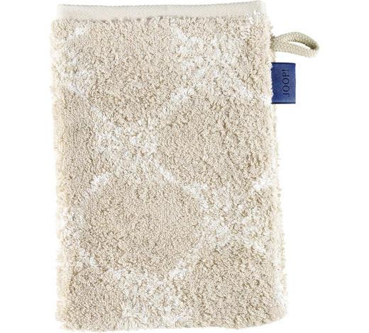 WASCHHANDSCHUH - Sandfarben, Design, Textil (16/22cm) - Joop!