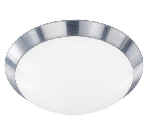LED-DECKENLEUCHTE - Alufarben, KONVENTIONELL, Kunststoff/Metall (33/8,5cm)