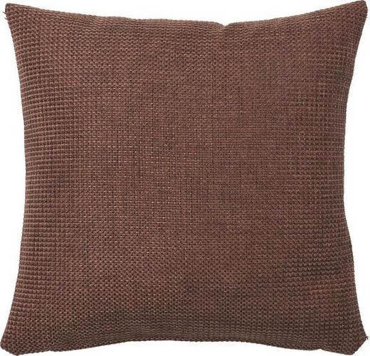 KISSENHÜLLE Dunkelbraun 60/60 cm - Dunkelbraun, Basics, Textil (60/60cm)