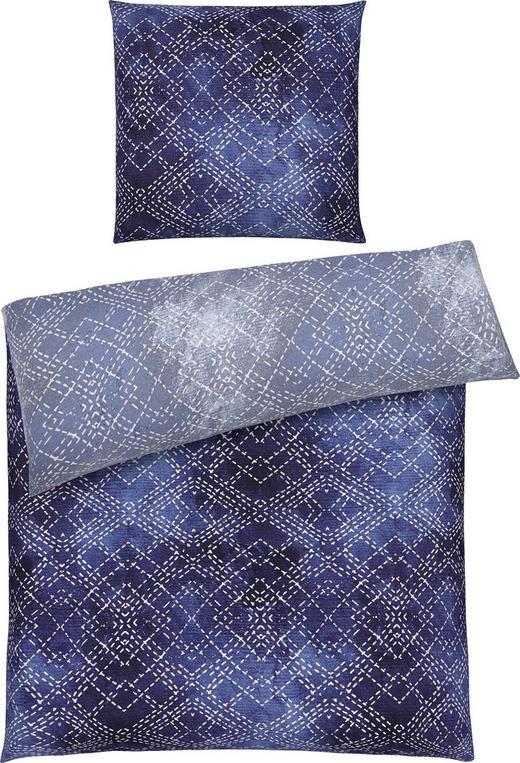 BETTWÄSCHE Satin Blau, Grau 135/200 cm - Blau/Grau, Design, Textil (135/200cm) - Ambiente