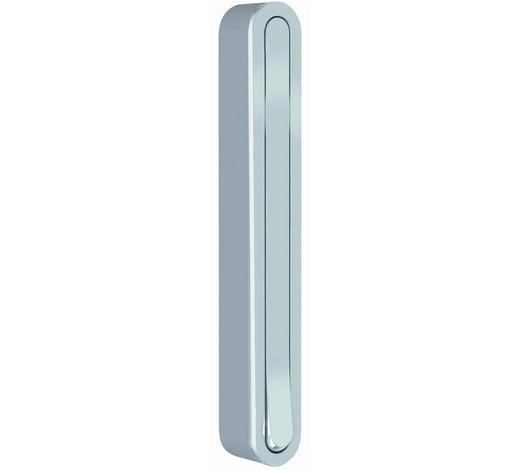 WANDHAKEN - Silberfarben, Design, Kunststoff/Metall (2,1/16/2,1 (15,6)cm)