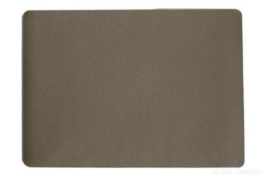 TISCHSET - Braun, Basics, Kunststoff (46/33cm) - ASA