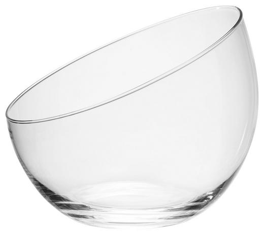 VASE 19 cm - Klar, Basics, Glas (22,5/19cm) - Ambia Home